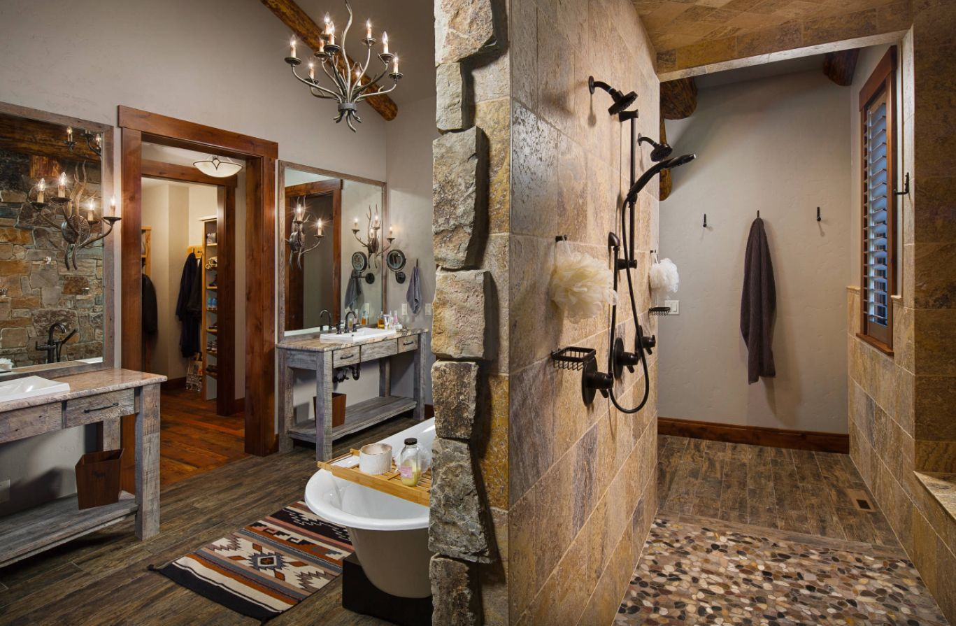rustic bathroom ideas inspirednature's beauty
