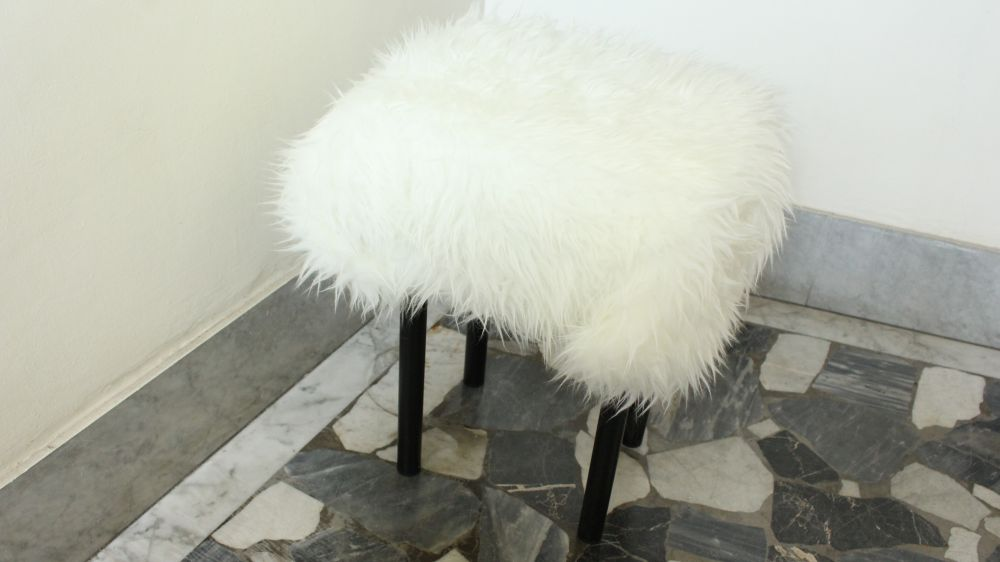 Diy Fur Covered Stool 954bartend Info