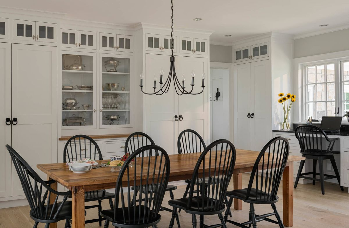 Wood Simple Farmhouse Dining Table View In Gallery
