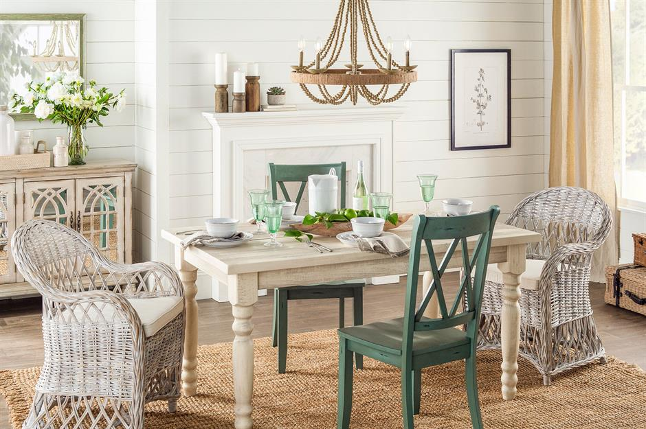 You Can Use Any Seating You Want With A Farmhouse Table