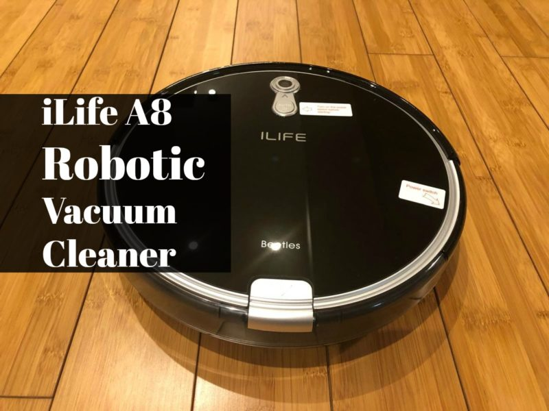 Squeaky-Clean Future with iLife A8 Robotic Vacuum Cleaner