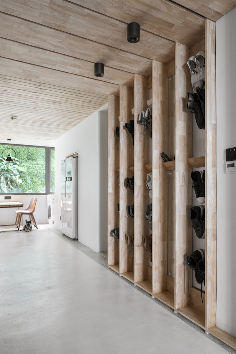 The apartment's new design is aimed at a more efficient layout and more space overall