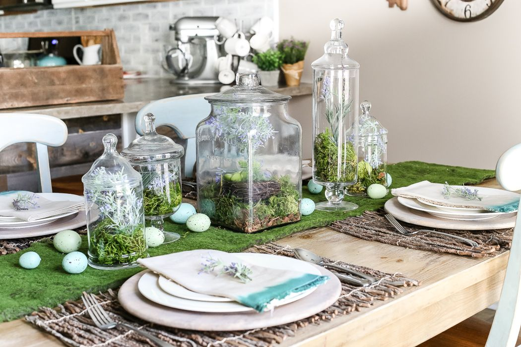 Diy easter table decorations that will fill your home