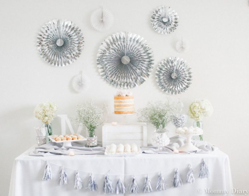 12 Decorations For a Dapper Baby Boy Shower