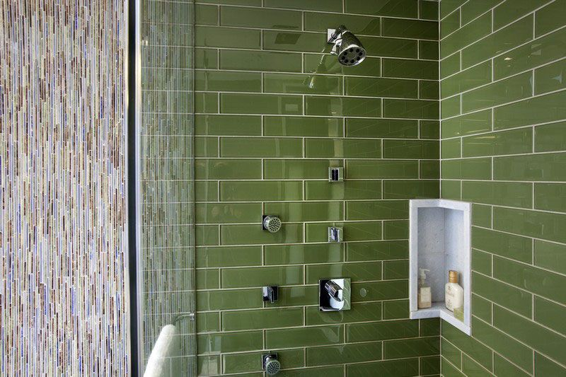 Stylish Ways To Modernize A Subway Tile Shower