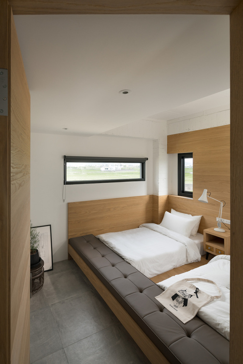 Each s=guest room has its own distinct layout, design and internal organization