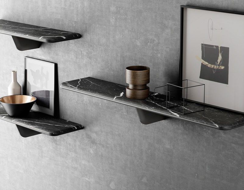Marble Shelf Extravaganza – Inspiring Design Suggestions