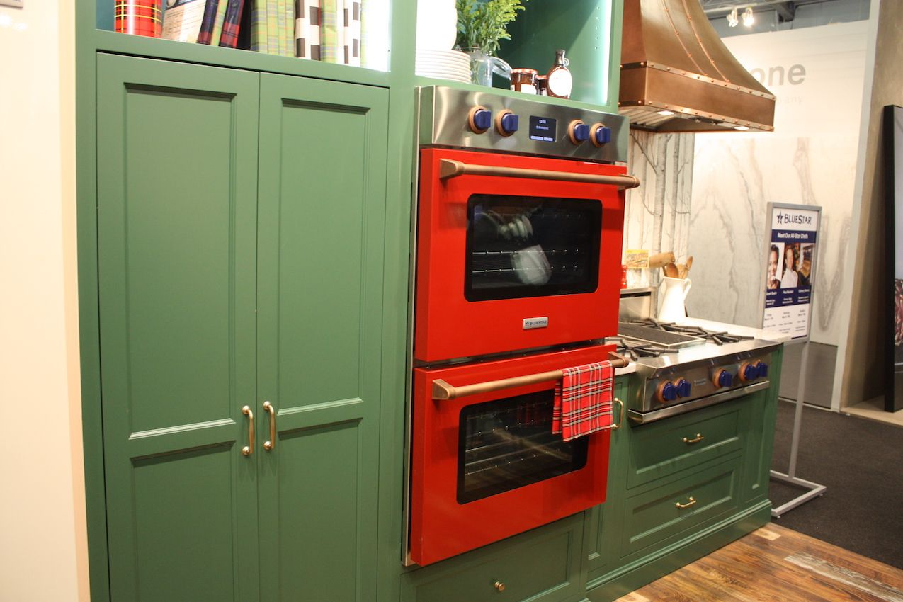 Kitchens increasingly use color to display a homeowner's unique personality.