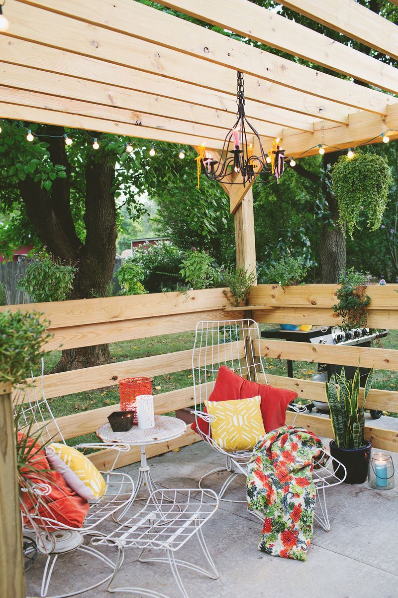 View in gallery - Great Pergola Plans Give The Start For New Outdoor Projects