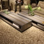 Lighter wood furniture is a key element of contemporary design.