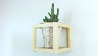 Create a Classy Cube Plant Holder