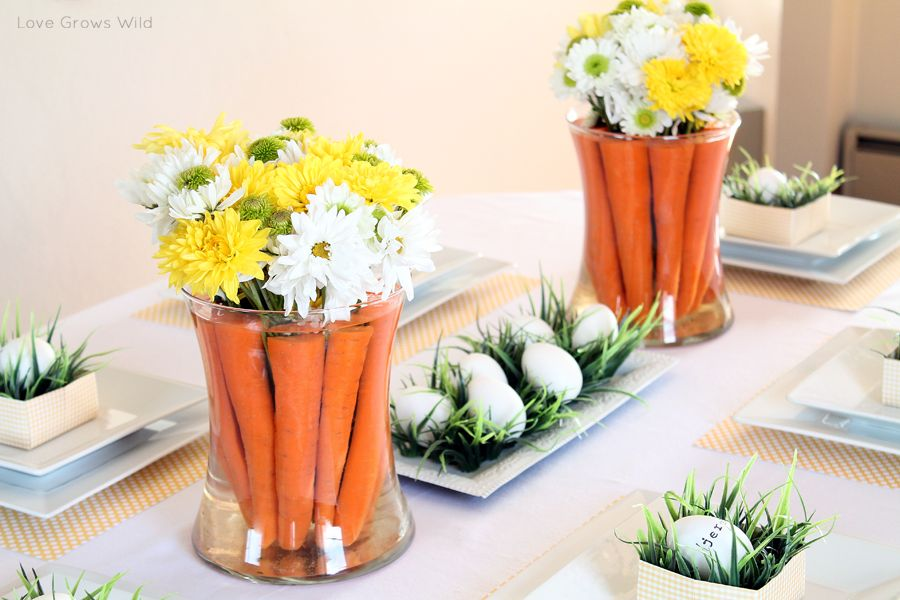 50 diy easter table decorations that will fill your home with joy rh homedit com easter dining table decorating ideas simple easter table decorating ideas