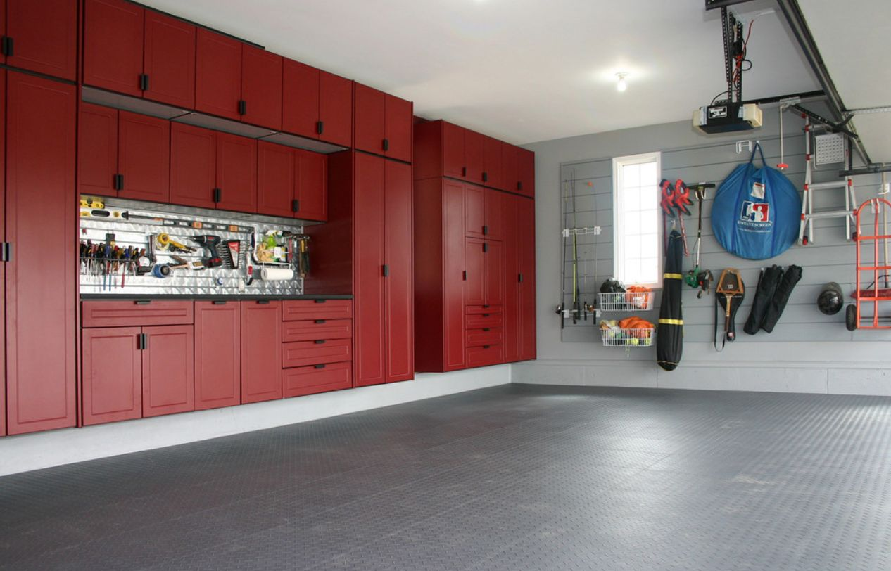 View in gallery & Garage Cabinets and Other Storage Tips For The Best Garage Ever