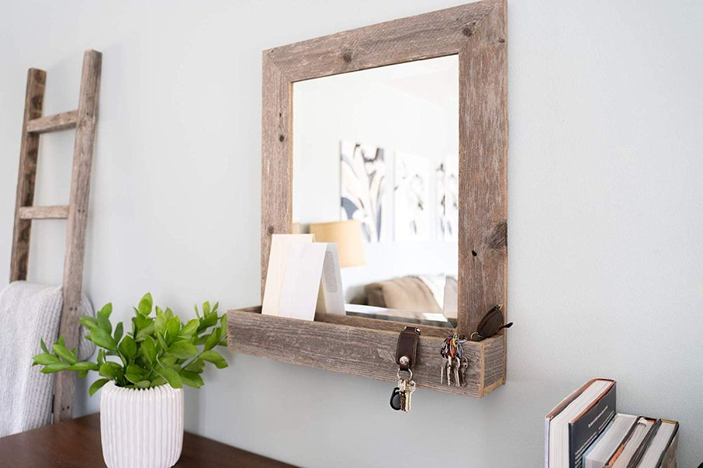 The Mirror With Shelf Combo Sleek And Practical Design Ideas