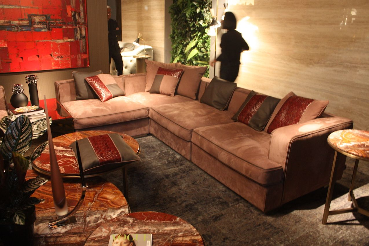 Contemporary sofas often have no visible legs, with upholstery extending to the floor.
