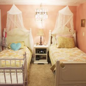 How to Decorate a Bedroom- use symmetry in interior design