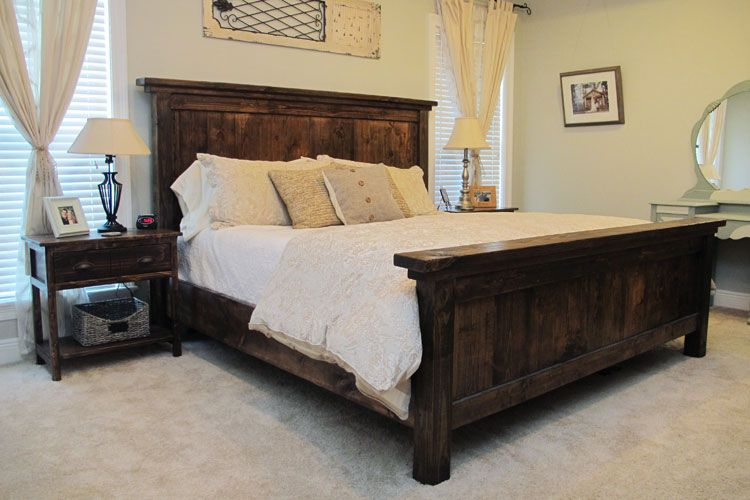 DIY Bed Frame Designs For Bedrooms With Character