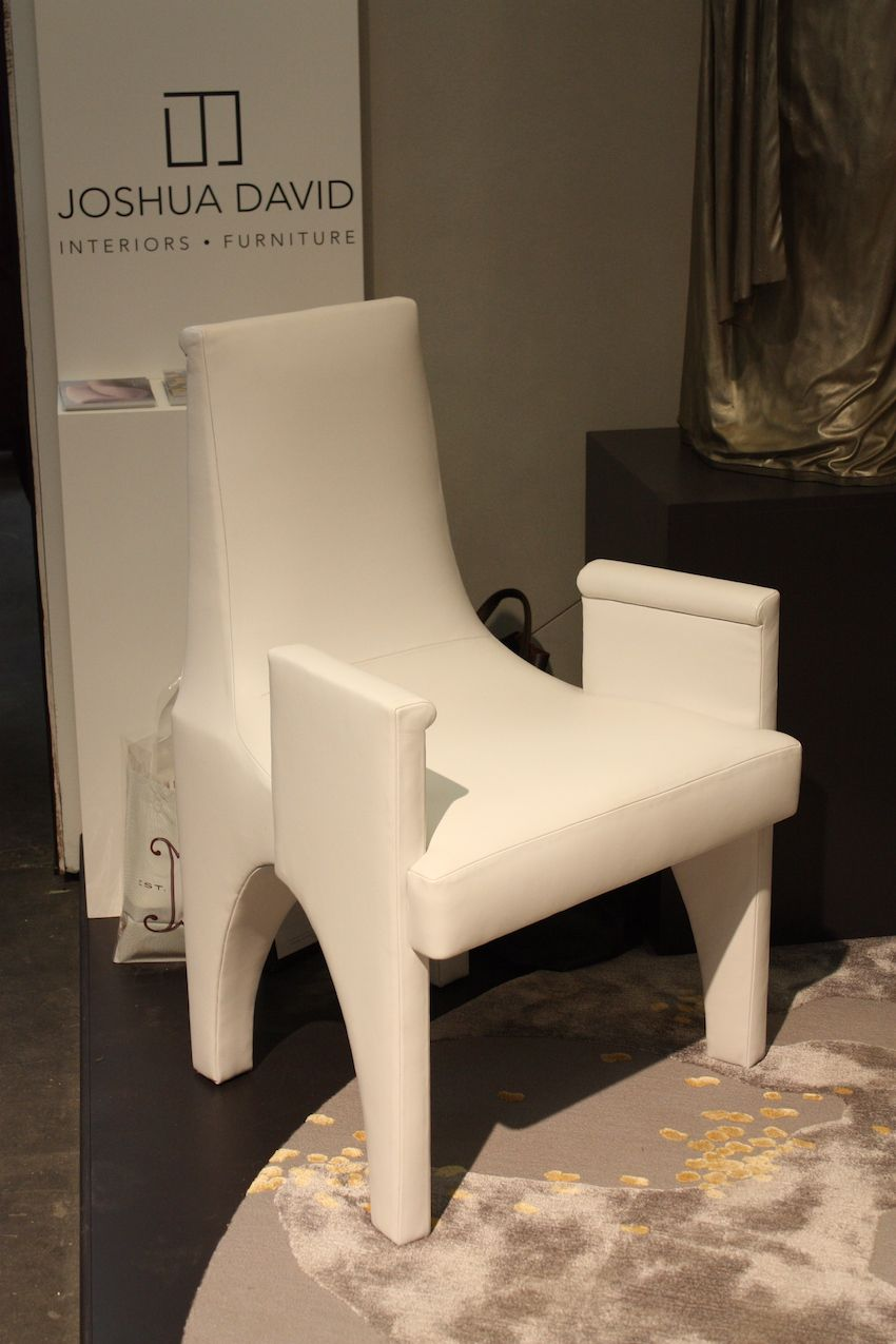 Distinctive chairs like this are a good way to freshen up a room.