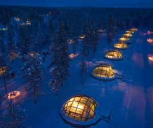 Kakslauttanen Arctic Resort - Igloos and Chalets View