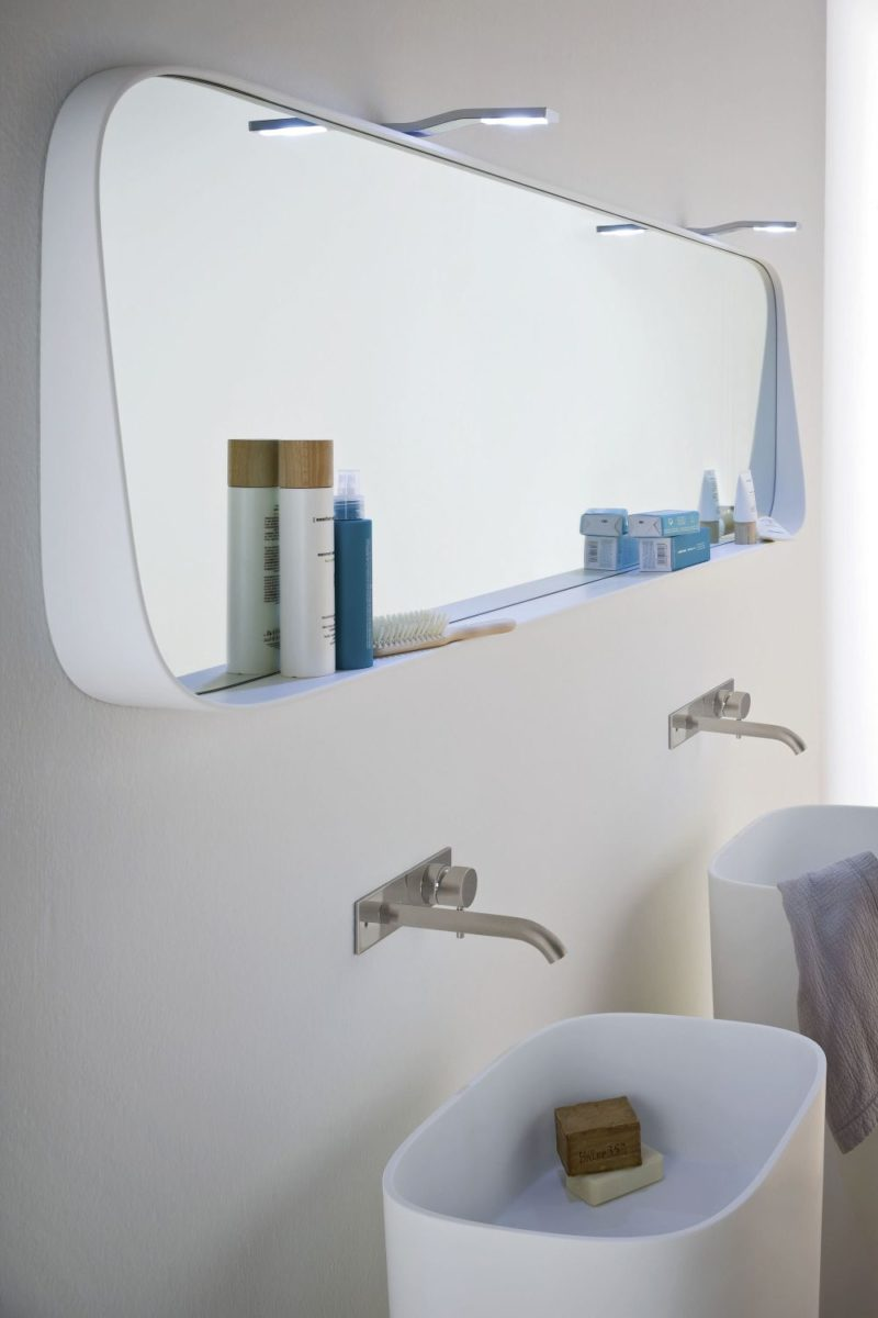 The Mirror With Shelf Combo – Sleek And Practical Design Concept