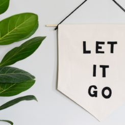 Let it Go Banner DIY
