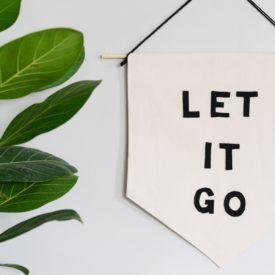 Let it Go Banner DIY