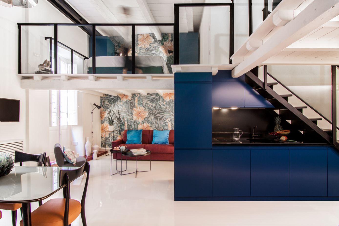 Cool Interior Designs Illustrate The Versatility Of A Mezzanine Floor
