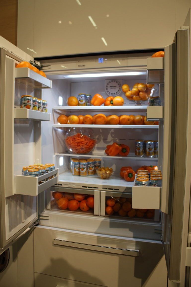 New refrigerator technology is more efficient as well as user-friendly.