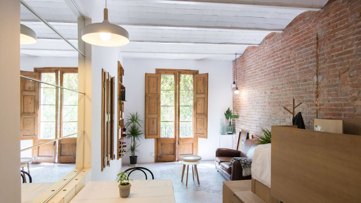 25 square meters of cozy living space