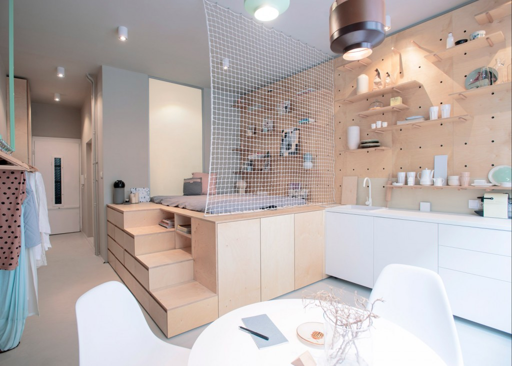 The Best Micro Apartments In World Reveal Their Clever Interior Designs