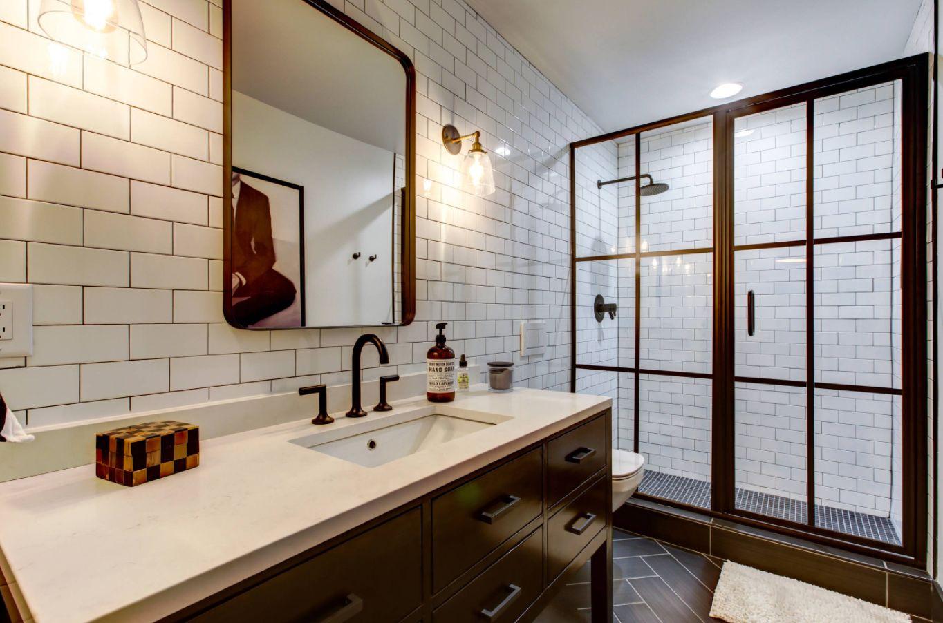 Bathroom Shower Tile | Stylish Ways To Modernize A Subway Tile Shower