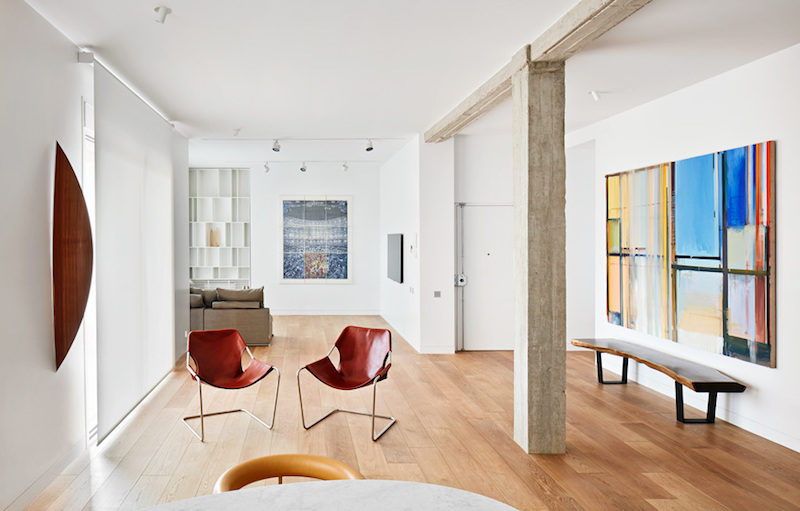 The Perfect Home And Art Gallery Combo Revealed Inside This Apartment