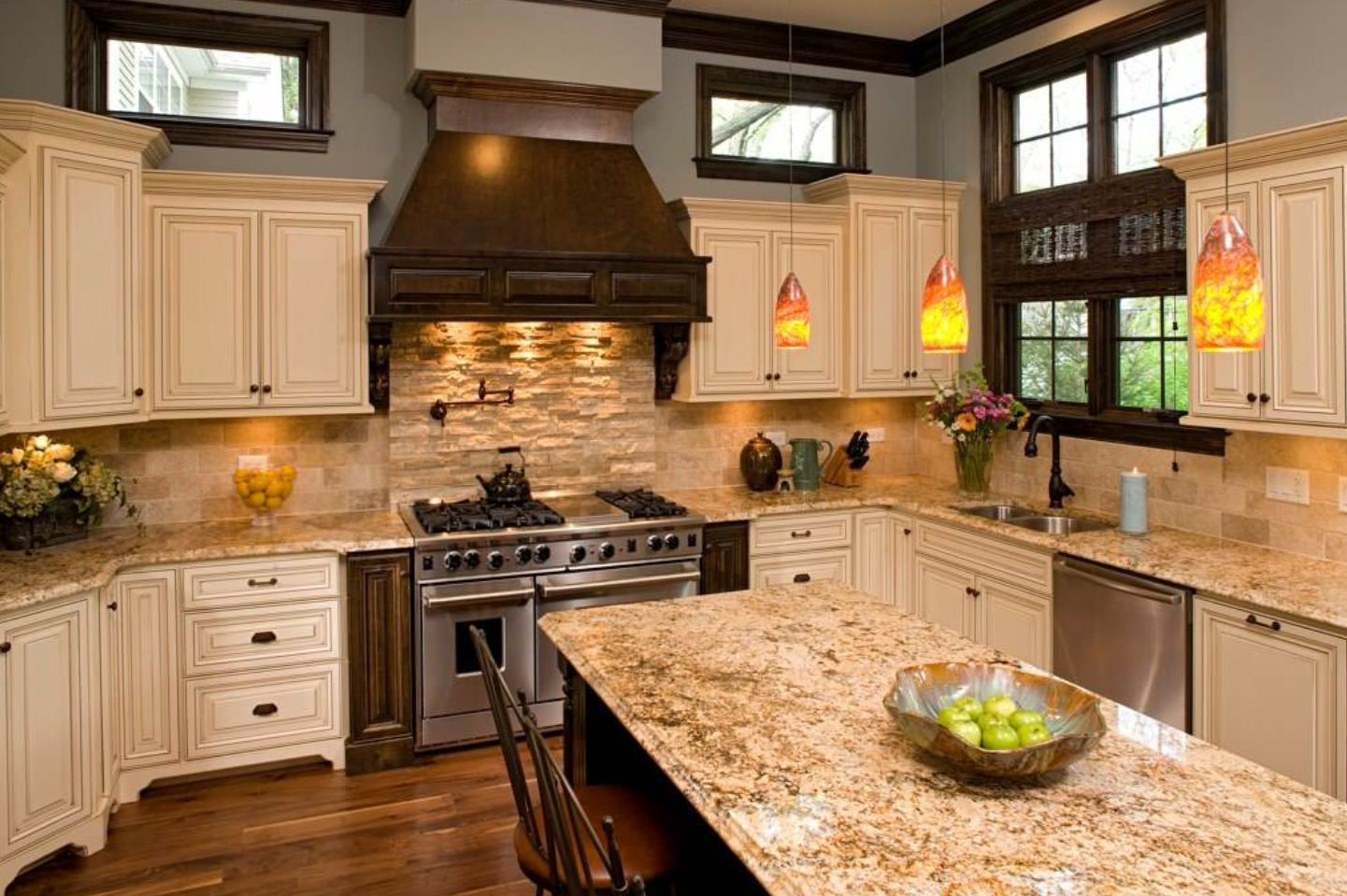 kitchen backsplash designs travertine travertine backsplash ideas for nostalgic kitchen designs 796