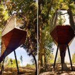 Tree snake house Luís Rebelo de Andrade + Tiago Rebelo de Andrade Design Outdoor