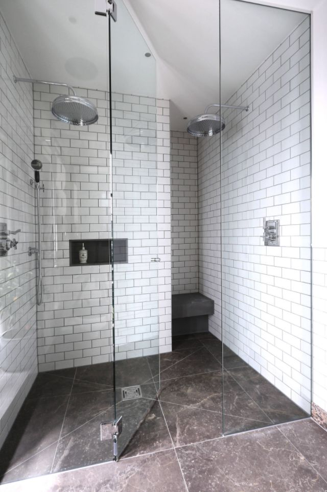 Stylish Ways To Modernize A Subway Tile Shower