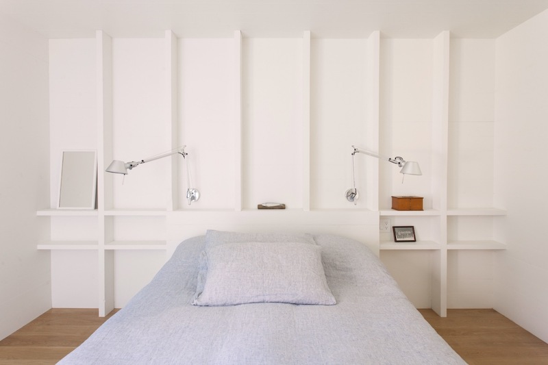 The bedrooms are small, peaceful and very minimal in terms of furniture and decorations