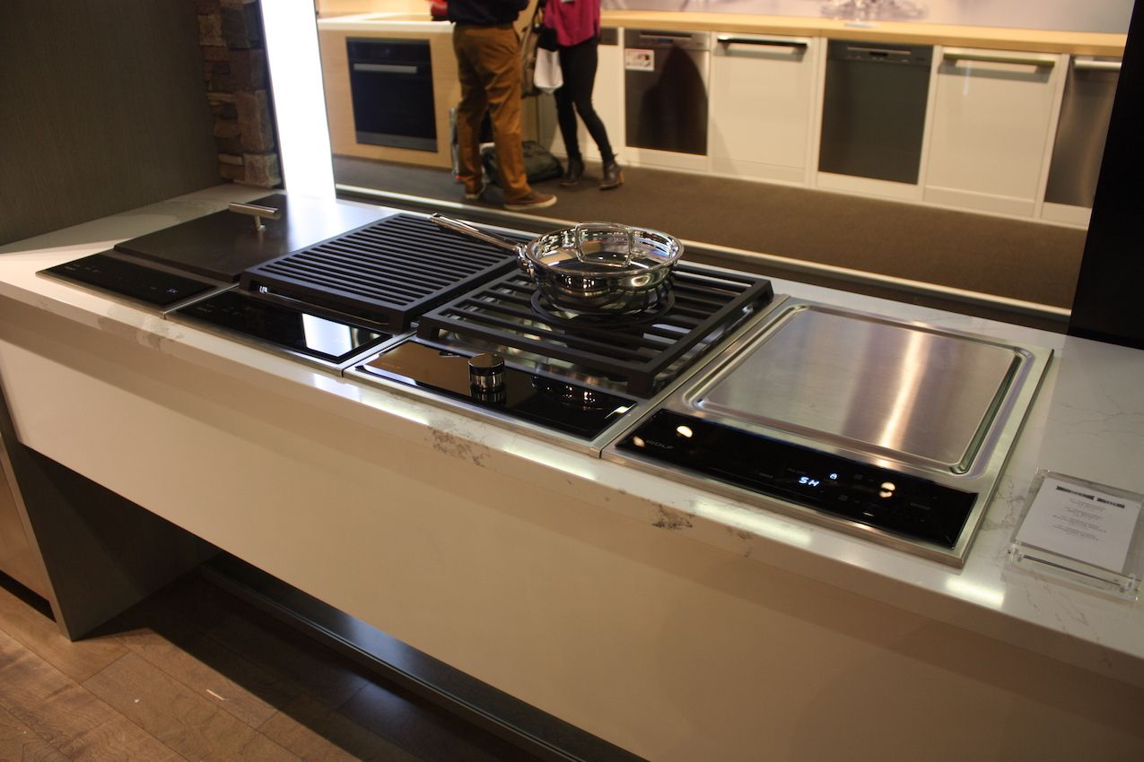 A customizable array makes cooking a breeze.
