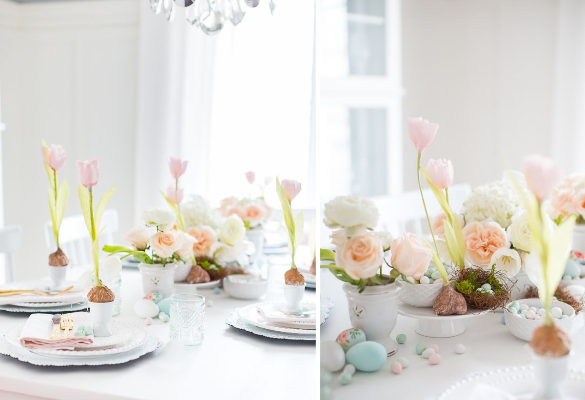 50 DIY Easter Table Decorations That Will Fill Your Home ...