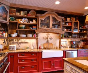 Travertine Backsplash Ideas For Nostalgic Kitchen Designs Nice Ideas