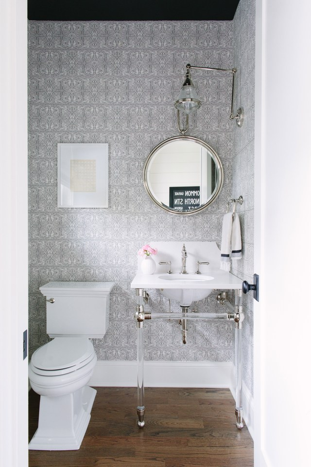 Small Powder Room Toilet