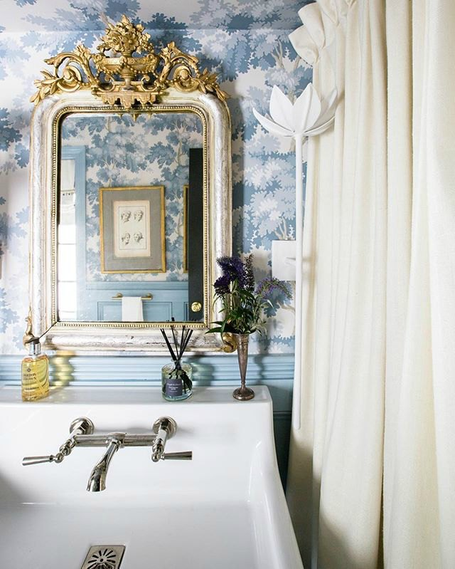 40 powder room ideas to jazz up your half bath Pretty powder room ideas
