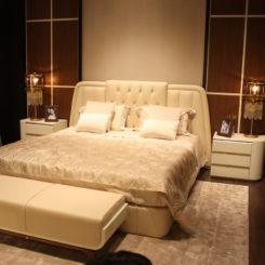Bruno Zampa beige bedroom
