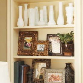 Cheap Decorating Ideas - display collections
