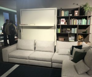 Clei the wall bed at salone del mobile