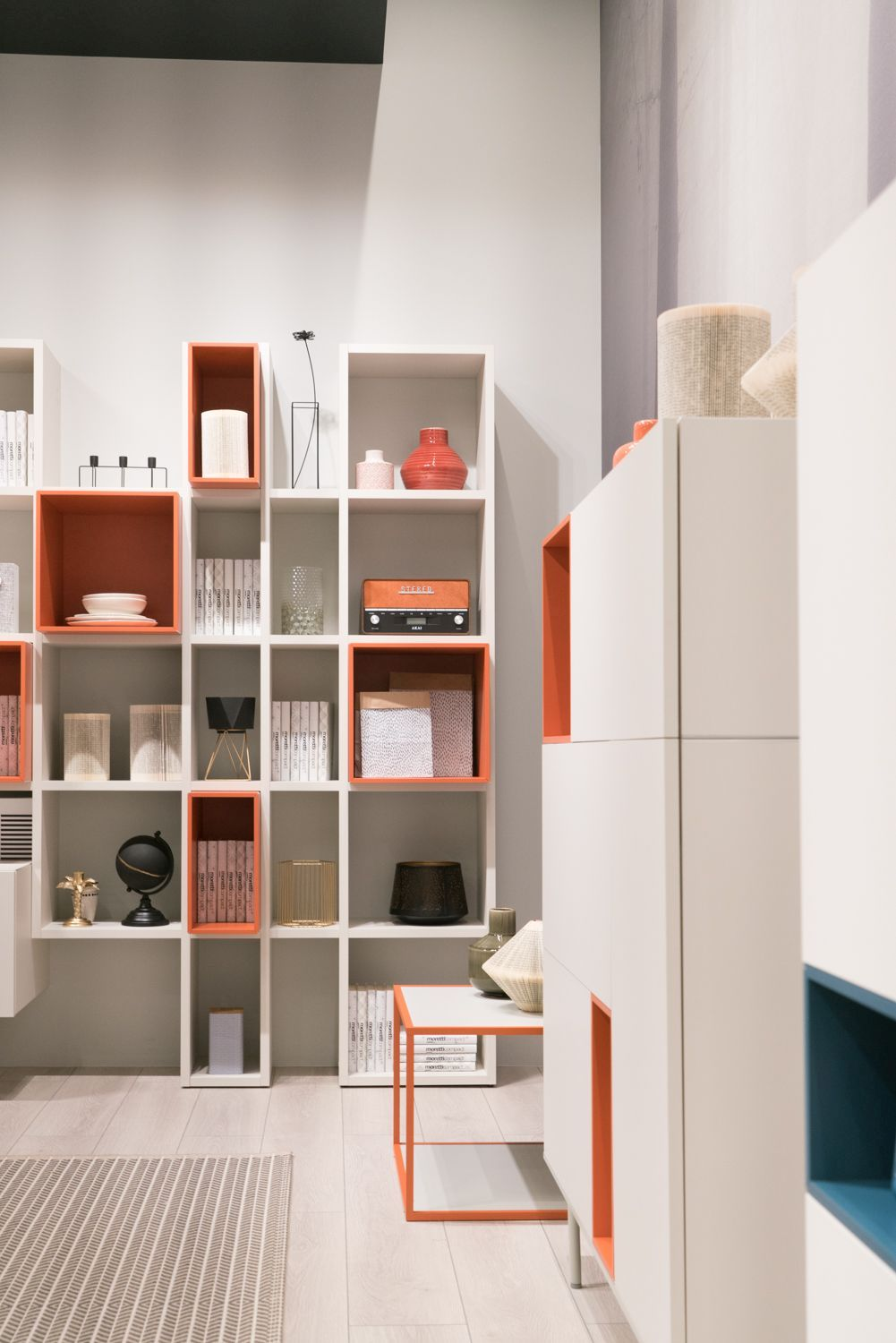 Most shelving ideas can be adapted and customized to suit a certain type of space or a style