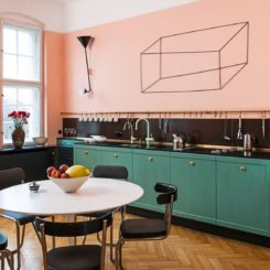 Colour Combination for Kitchen