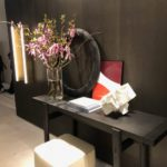 Decorating a console by Poliform salone del mobile 2018