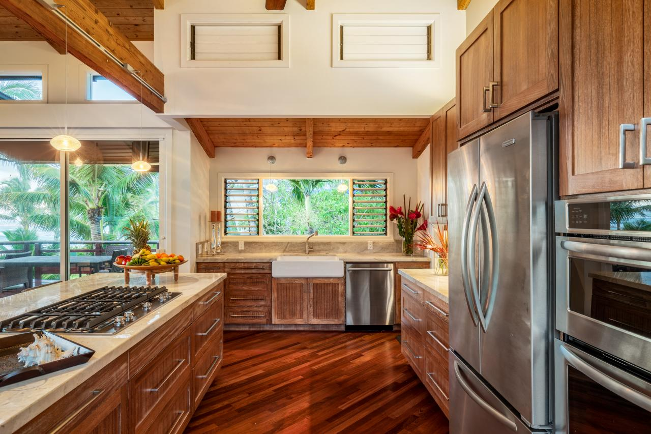 15 beautiful wood floors in the kitchenHi Kitchen Floor Design #18