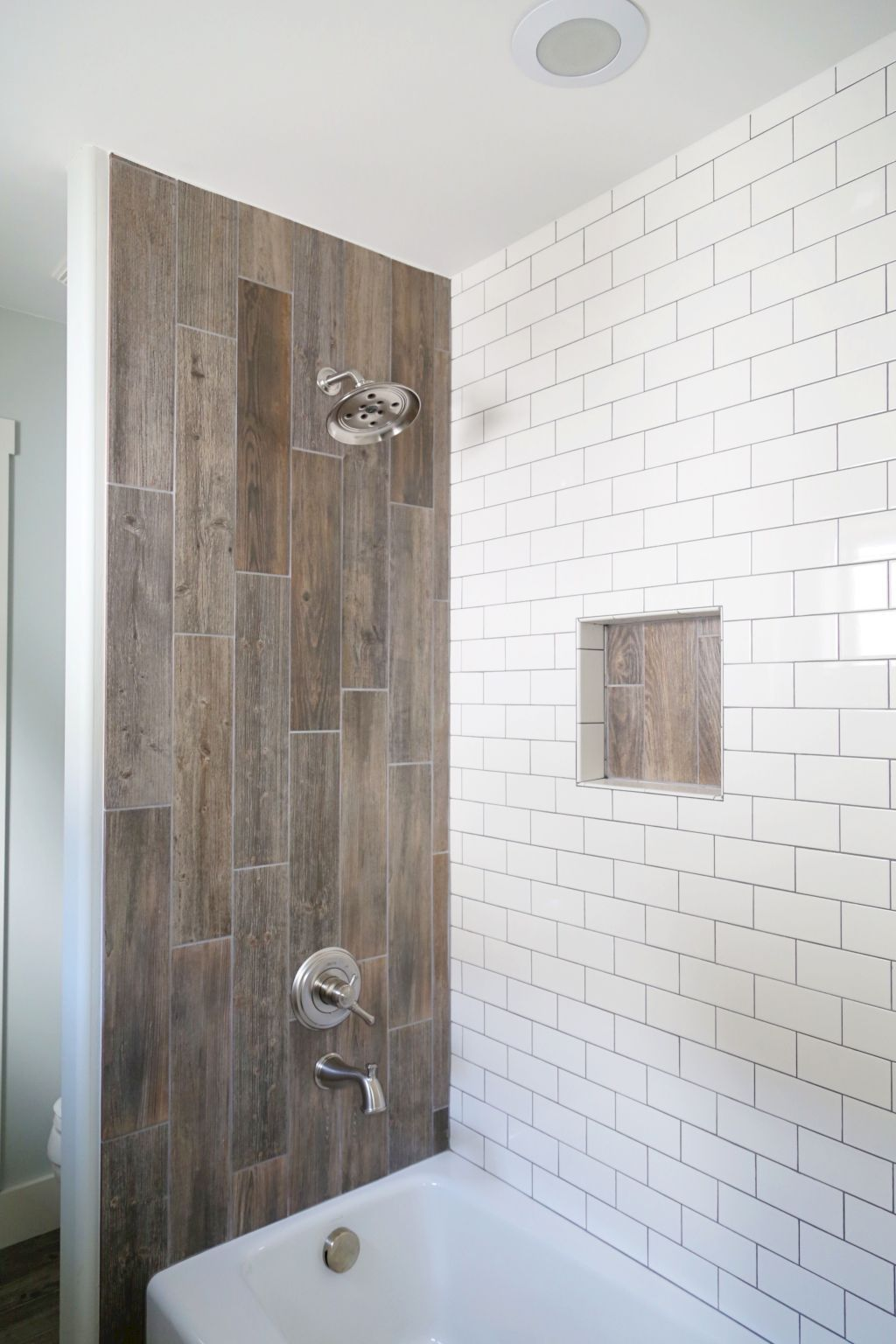 tile bathroom shower ideas 15 wood tile showers for your bathroom 3833