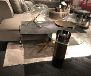 Gallotti and Radice glass coffee tables